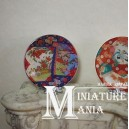Миниатюрная тарелка в стиле Имари