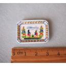 Французская миниатюра Fèves - тарелка в стиле Кемпер