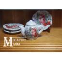 Миниатюрный чайник с розами (2)