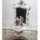 Миниатюрная женская статуэтка, 32 мм, фарфор
