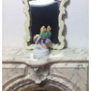 Миниатюрная женская статуэтка, 31 мм, фарфор