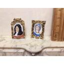 Статуэтки дамы с кавалером, Версаль, фарфор