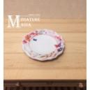 Миниатюрная тарелка Бабочки (ободок), 25 мм