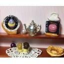 Кукольная еда - десерт с шоколадом